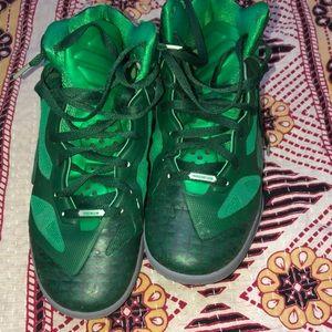 Nike green basketball shoes size 7.5